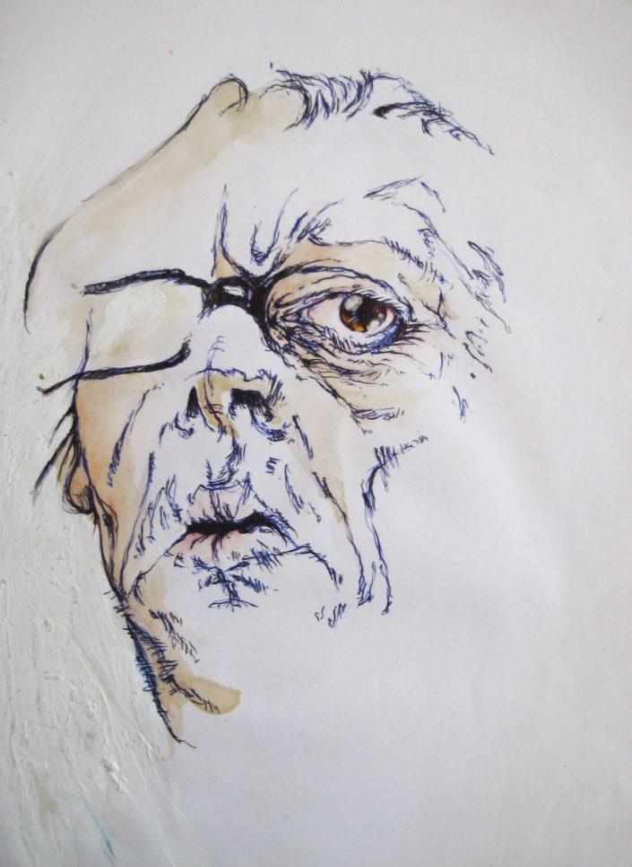 Autoportrait, 20-09-2005