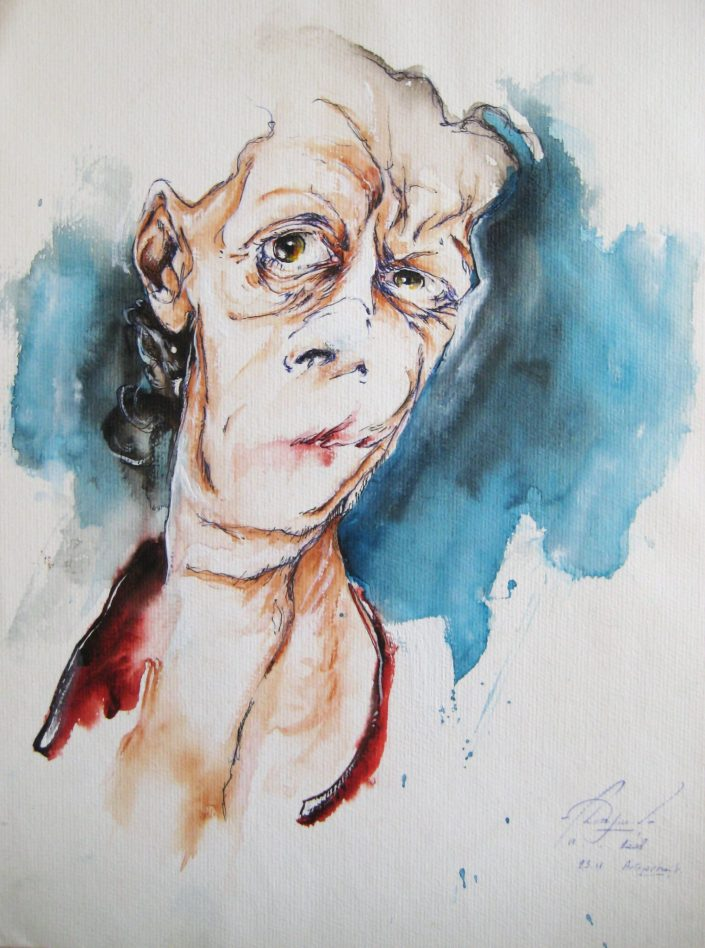 Autoportrait, 23-11-2008