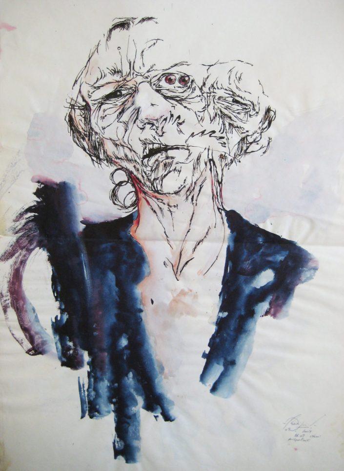 Autoportrait, 26-09-2004