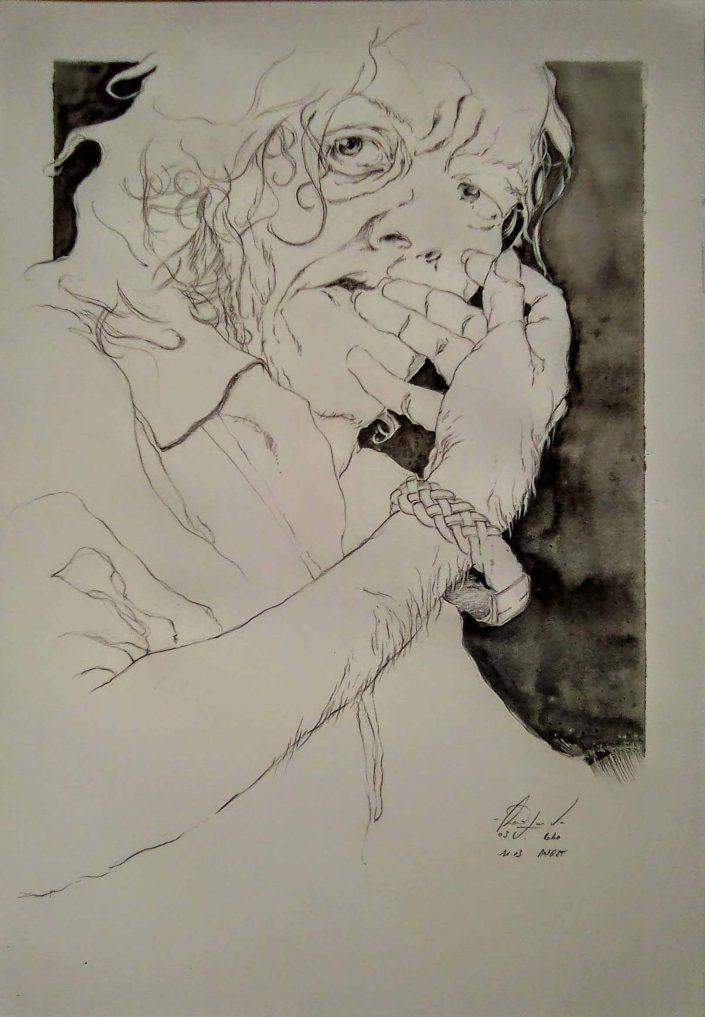 Angst, Autoportrait, 2020